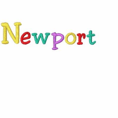 Namedrop Nation_Newport multicolor Sudadera Bordada Con Serigrafía