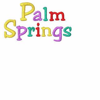 Namedrop Nation_Palm Springs Multi-colored Hoodie