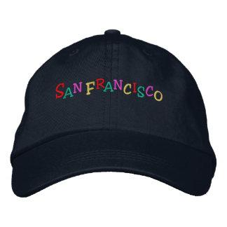 Namedrop Nation_San Francisco multicolor Gorro Bordado