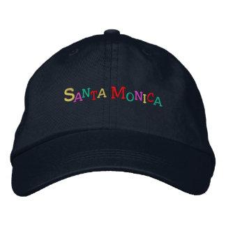 namedrop Nation_Santa Monica multi-colored Embroidered Baseball Hat