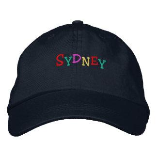 Namedrop Nation_Sydney multicolor Gorra Bordada
