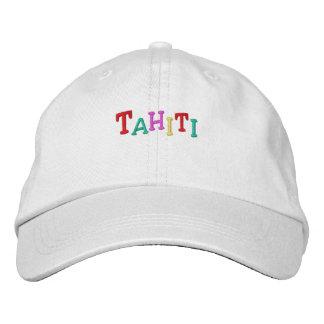 Namedrop Nation_Tahiti multi-colored Embroidered Baseball Caps