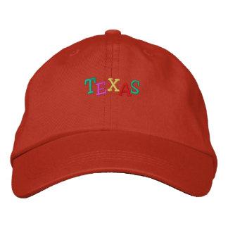 Namedrop Nation_Texas multicolor Gorro Bordado