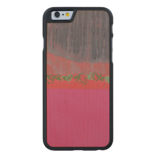 Namenlosen 2000 carved® maple iPhone 6 case