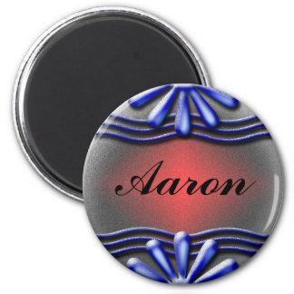 Nameplate blue Magnet