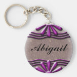 Nameplate lilac Keychain