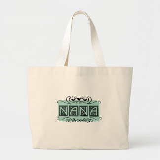 Nameplate Nana T-shirts and Gifts Large Tote Bag