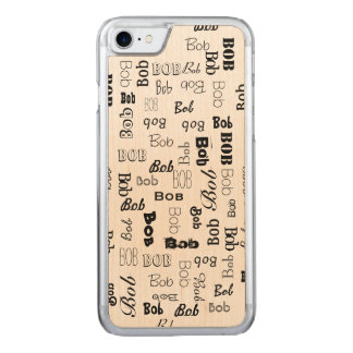 Names 3 Letters Long Carved iPhone 7 Case