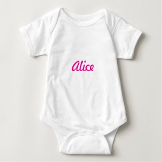 Names collection baby bodysuit