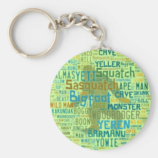 Names For Bigfoot Keychain