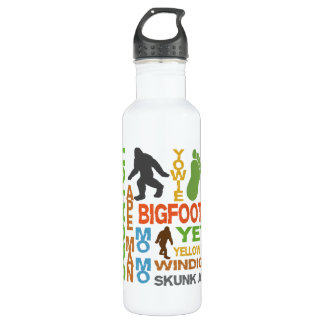 Names For Bigfoot Stainless Steel Water Bottle