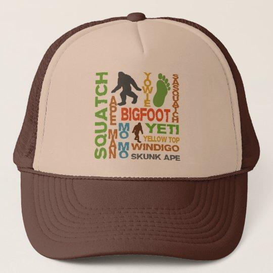Names For Bigfoot Trucker Hat