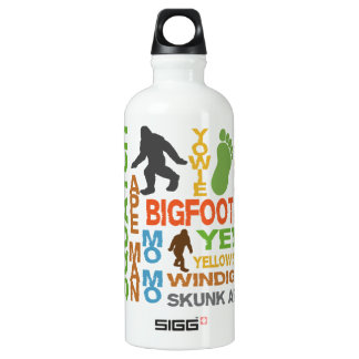 Names For Bigfoot Water Bottle