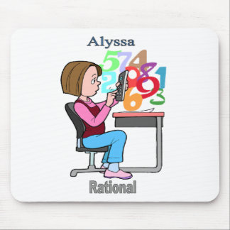 Names&Meanings - Alyssa Mouse Pad