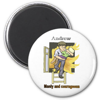 Names&Meanings - Andrew Magnet