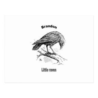 Names&Meanings - Brandon Postcard