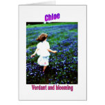 Names&Meanings - Chloe Cards