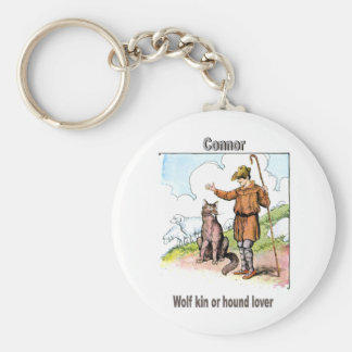 Names&Meanings - Connor Keychain