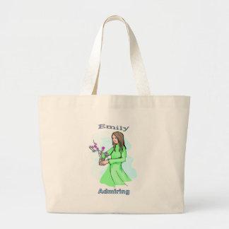 Names&Meanings - Emily Jumbo Tote Bag
