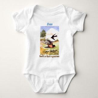 Names&Meanings - Evan Baby Bodysuit