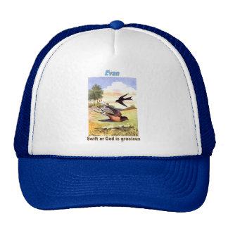 Names&Meanings - Evan Trucker Hat