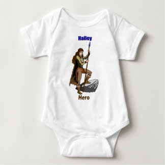 Names&Meanings - Hailey Baby Bodysuit