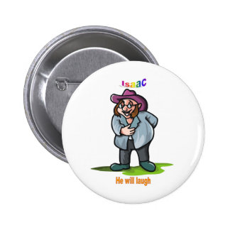 Names&Meanings - Isaac Pinback Button