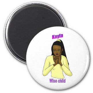 Names&Meanings - Kayla Magnet