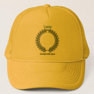 Names&Meanings - Lauren Trucker Hat