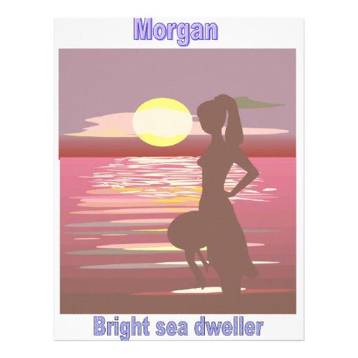 Names&Meanings - Morgan Letterhead Template