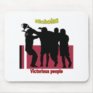 Names&Meanings - Nicholas Mouse Pad