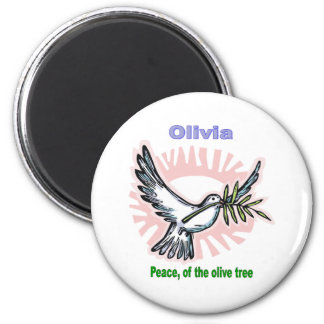 Names&Meanings - Olivia Magnet