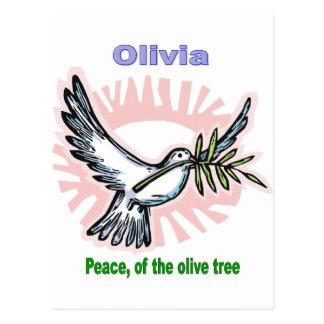 Names&Meanings - Olivia Postal