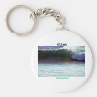Names&Meanings - Richard Keychain