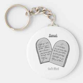 Names&Meanings - Samuel Keychain