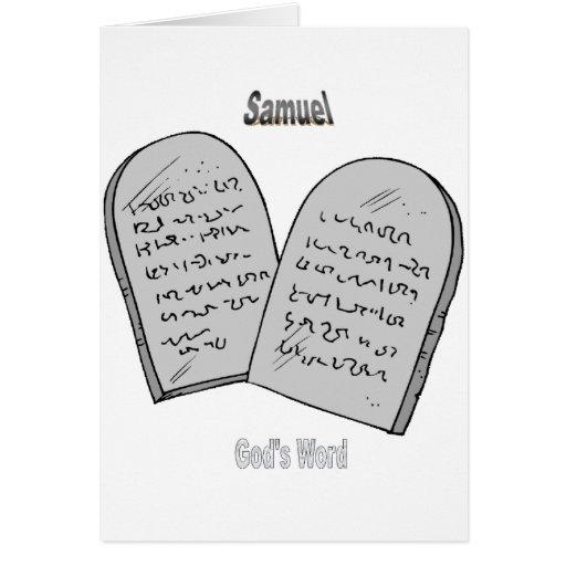 Names&Meanings - Samuel Tarjetas