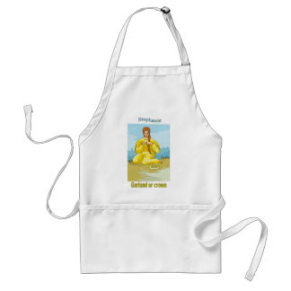 Names&Meanings - Stephanie Adult Apron