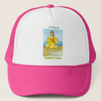 Names&Meanings - Stephanie Trucker Hat