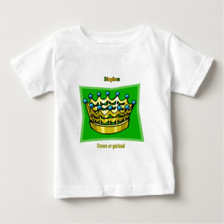 Names&Meanings - Stephen Baby T-Shirt