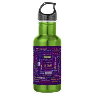Names of God 18oz Water Bottle