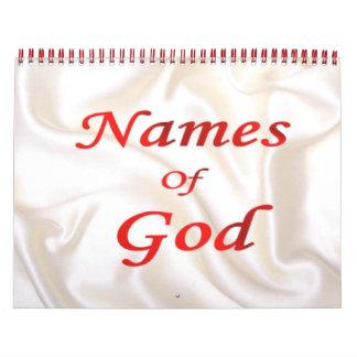 Names of God 2014 Calendar