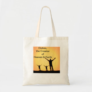 Names of God Bible Tote Bags