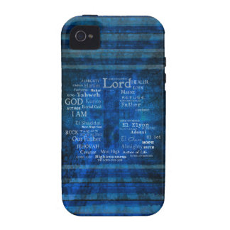 Names of God,  Holy Names listed with  image Vibe iPhone 4 Cases