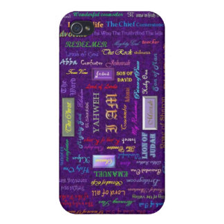 names of God iPhone case iPhone 4/4S Cases