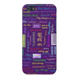names of God iPhone case iPhone 5 Cover