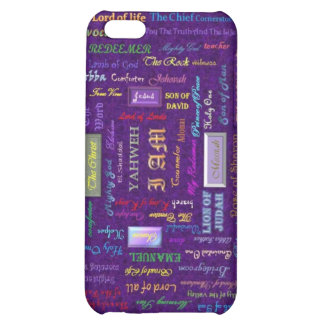 names of God iPhone case iPhone 5C Cases