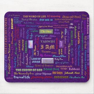 names of God mousepad
