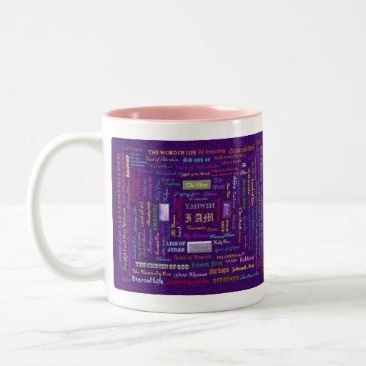 names of God mug
