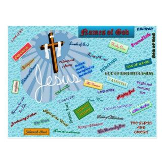 Names of God Postcard