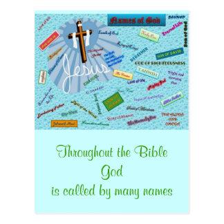 Names of God Postcards